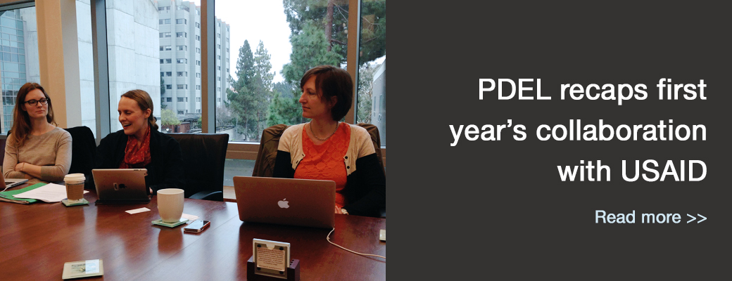 PDEL recaps first year's collaboration with USAID
