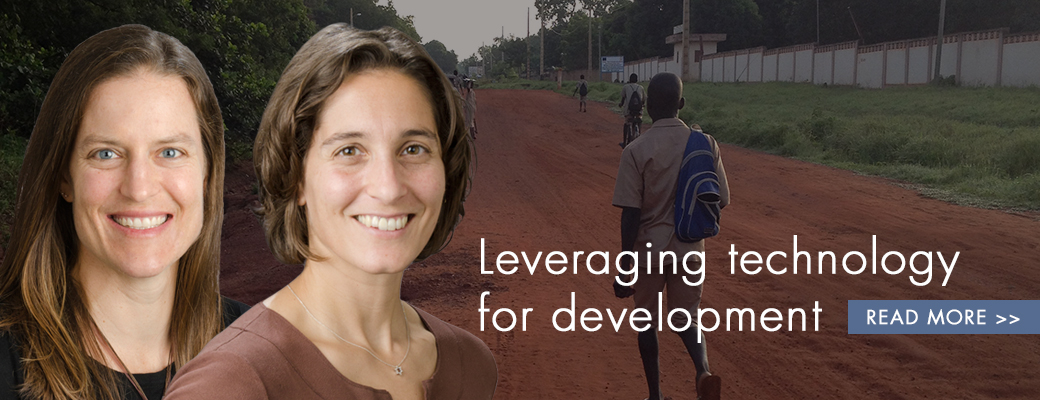 Leveraging technology for development