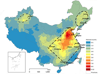 Validating China's Output Data Using Satellite Observations